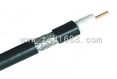 射频电缆SYV-75-5视频线SYV-75-5【小猫牌】