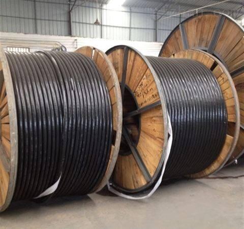 青岛现货铝芯电缆ZR-YJLV4*70+1*35阻燃聚乙烯铝芯电缆
