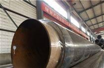 高温预制直埋聚氨酯热水保温管厂家