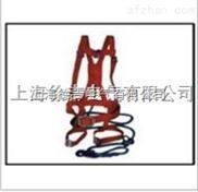 红色双背双保险安全带 电工安全带