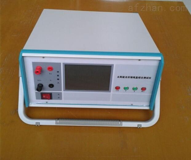一、QK9008B太阳能光伏接线盒综合测试仪概述: QK9008B太阳能光伏接线盒综合测试仪,是我公司最新一款太阳能光伏接线盒检测的专业测试仪器,该仪器是国内第一款可以一次性测试接线盒的导通、及二极管的正向压降VF、反向漏电流IR、击穿电压VR、击穿电压差δVR以及引线导通直流电阻RJ等参数的接线盒测试仪器。能满足20-300W接线盒(1个至6个二极管)的测试所需的要求,并显示二极管的测量参数,自动判断接线盒合格或不合格。当检测到的接线盒不合格仪器自动报警,仪器显示不合格接线盒的参数。广泛应用