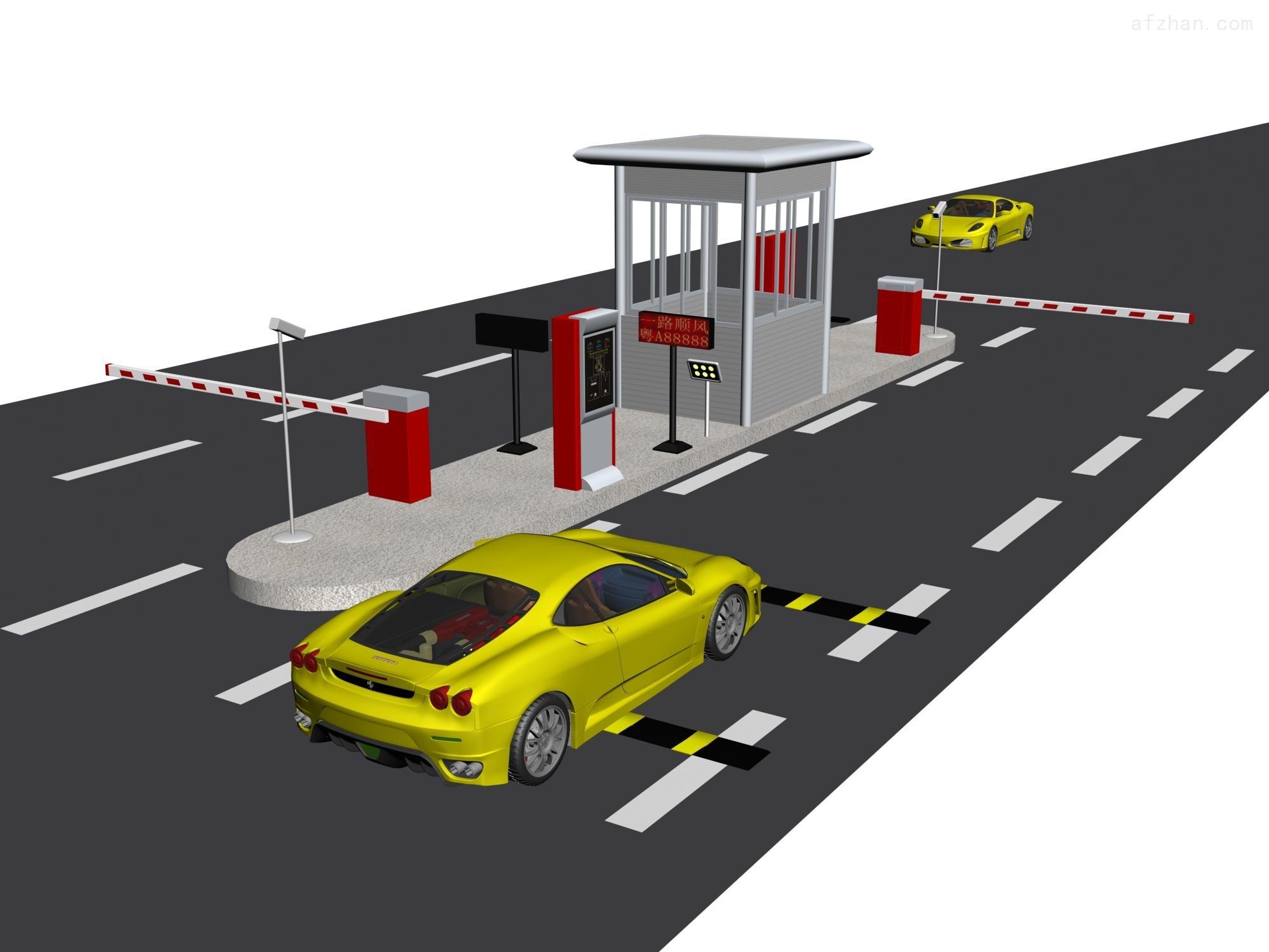 合肥商业广场车牌自动识别系统 安徽超市停车场收费系统