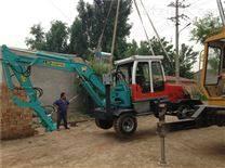 挖掘机挖坑机 钩机电杆挖坑机