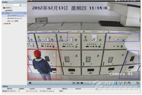 海康威视智能监控入驻上海某变电站