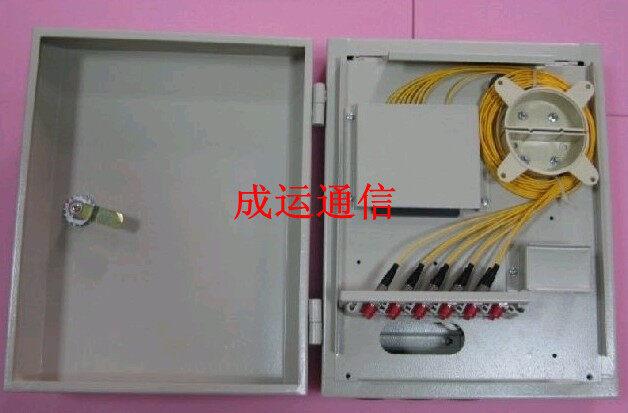 24芯 电信标准 24芯光纤分纤箱 24芯光缆分纤箱