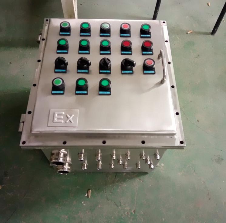 防爆控制柜一备一用7.5kw排污泵