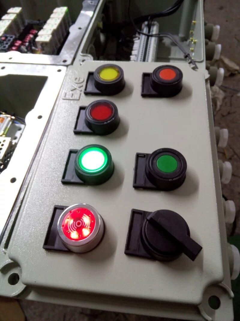 配电箱专用防爆指示灯 防爆按钮