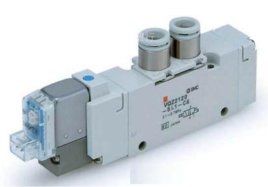 smc5通先导式电磁阀