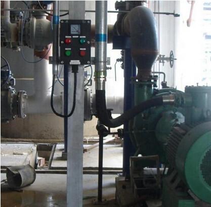 排水泵带浮球阀和报警电路图