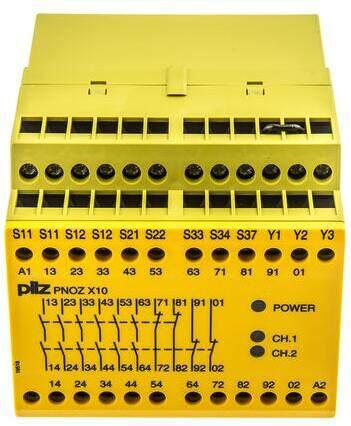 pnoz x10 24vdc 6n/o-pilz继电器