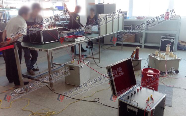 变频串联谐振试验装置/工作原理