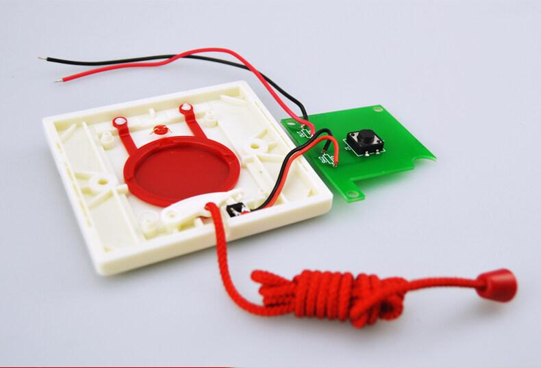 卫生间紧急呼叫按钮接线图